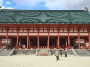 四条烏丸の京都レンタルきもの古都で平安神宮神苑へ!5