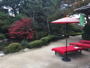 四条烏丸の京都レンタルきもの古都で平安神宮神苑へ!12