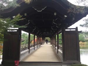 四条烏丸の京都レンタルきもの古都で平安神宮神苑へ!15