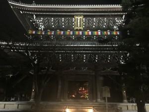 京都の金戒光明寺を四条烏丸の古都で着物レンタルして夜間拝観!1