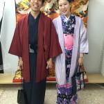 11月26日の着物レンタルのお客様 京都レンタルきもの古都4