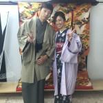 11月26日の着物レンタルのお客様 京都レンタルきもの古都7