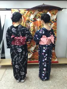 11月27日の着物レンタルのお客様 京都レンタルきもの古都3