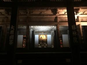 京都 勝林院・宝泉院 秋の夜間特別拝観を着物レンタルで!3