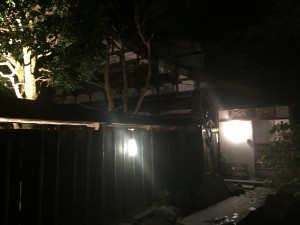 京都 勝林院・宝泉院 秋の夜間特別拝観を着物レンタルで!10