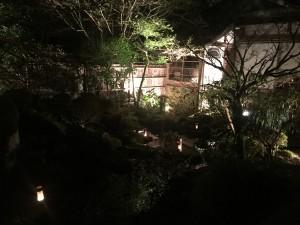 京都 勝林院・宝泉院 秋の夜間特別拝観を着物レンタルで!11
