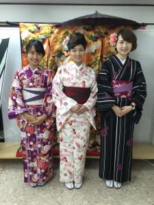 11月29日の着物レンタルのお客様 京都レンタルきもの古都12