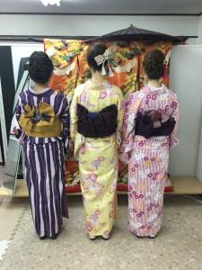 11月29日の着物レンタルのお客様 京都レンタルきもの古都10