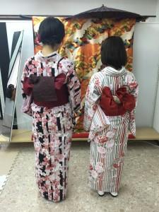 11月30日の着物レンタルのお客様 京都レンタルきもの古都1