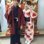 11月30日の着物レンタルのお客様 京都レンタルきもの古都4