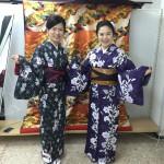 12月1日の着物レンタルで京都観光の皆様をご紹介♫5
