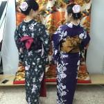 12月1日の着物レンタルで京都観光の皆様をご紹介♫6