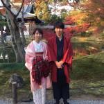 12月5日 古都の着物レンタルで京都観光されたお客様5