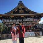 12月5日 古都の着物レンタルで京都観光されたお客様6