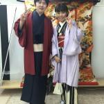 京都レンタルきもの古都でカップル着物レンタル!12月15日2