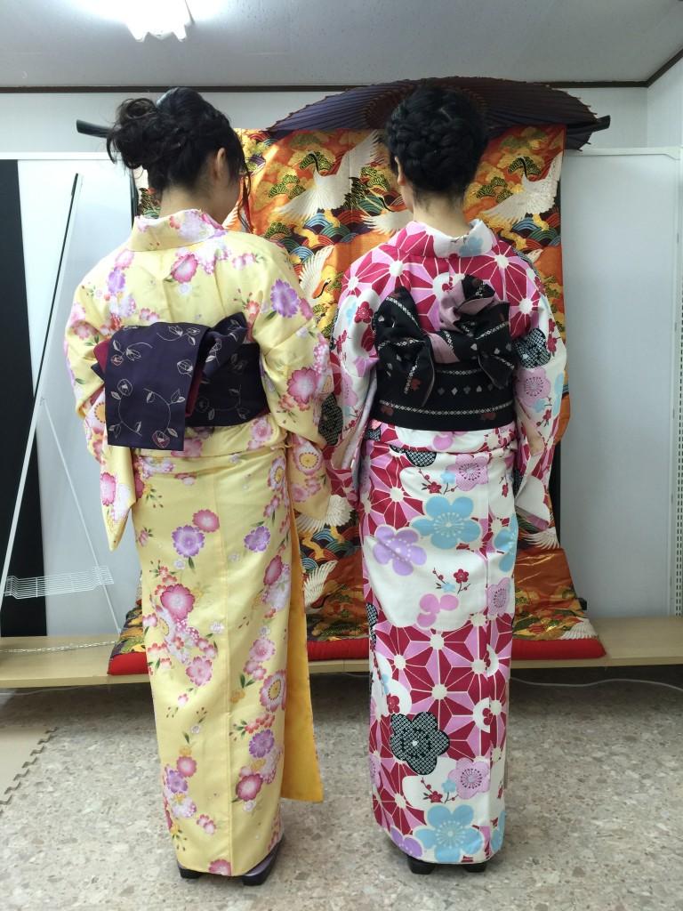12月27日 京都四条烏丸の古都で着物レンタルされたお客様3