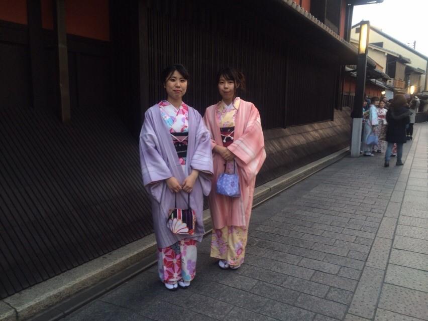 12月27日 京都四条烏丸の古都で着物レンタルされたお客様5