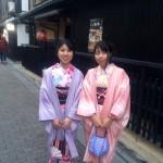 12月27日 京都四条烏丸の古都で着物レンタルされたお客様7