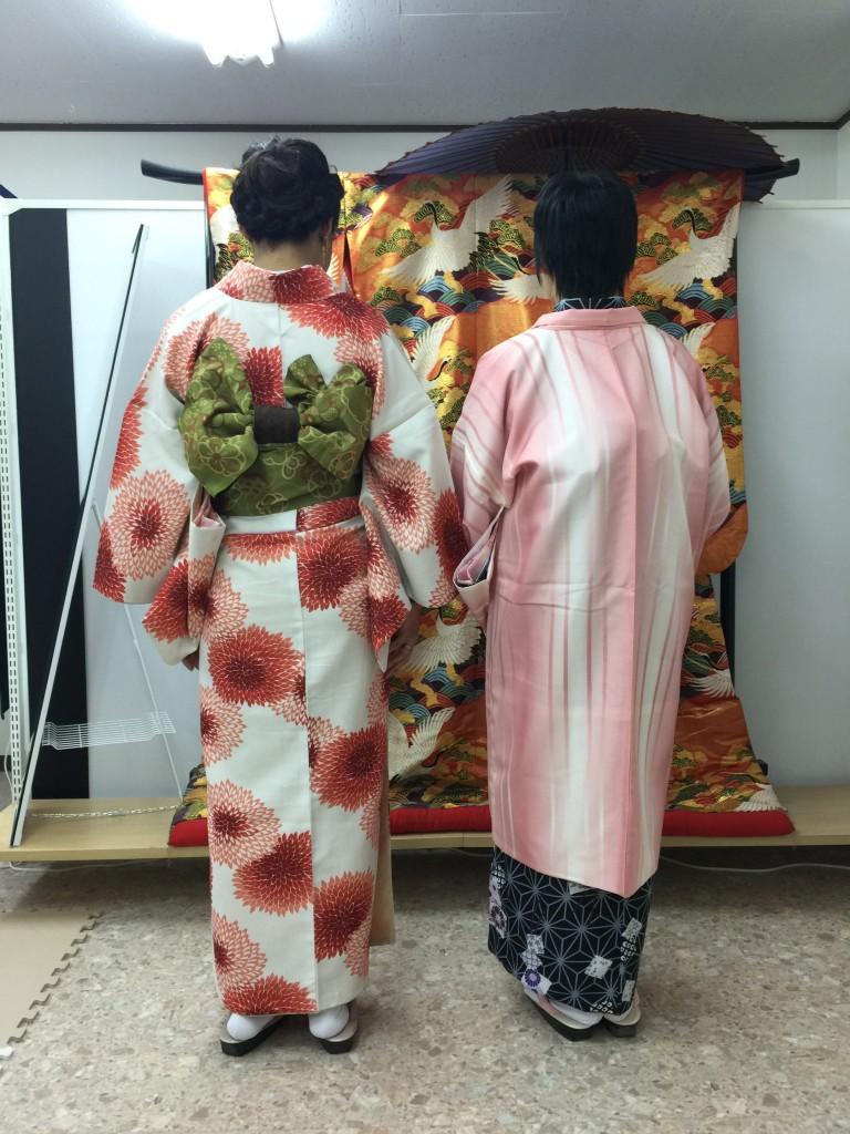 四条烏丸の京都レンタルきもの古都で着物レンタルされたお客様1