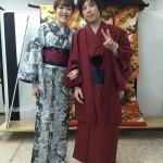 京都四条烏丸の古都で着物レンタル!元旦初詣のお客様5