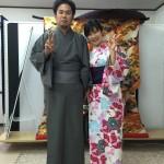 京都四条烏丸の古都で着物レンタル!お正月2日目のお客様2