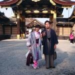 京都四条烏丸の古都で着物レンタル!お正月2日目のお客様24