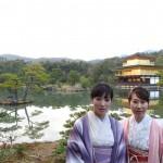 京都四条烏丸の古都で着物レンタル!お正月3日目のお客様12