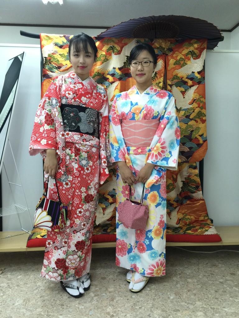 京都四条烏丸の古都で着物レンタルされたお客様1