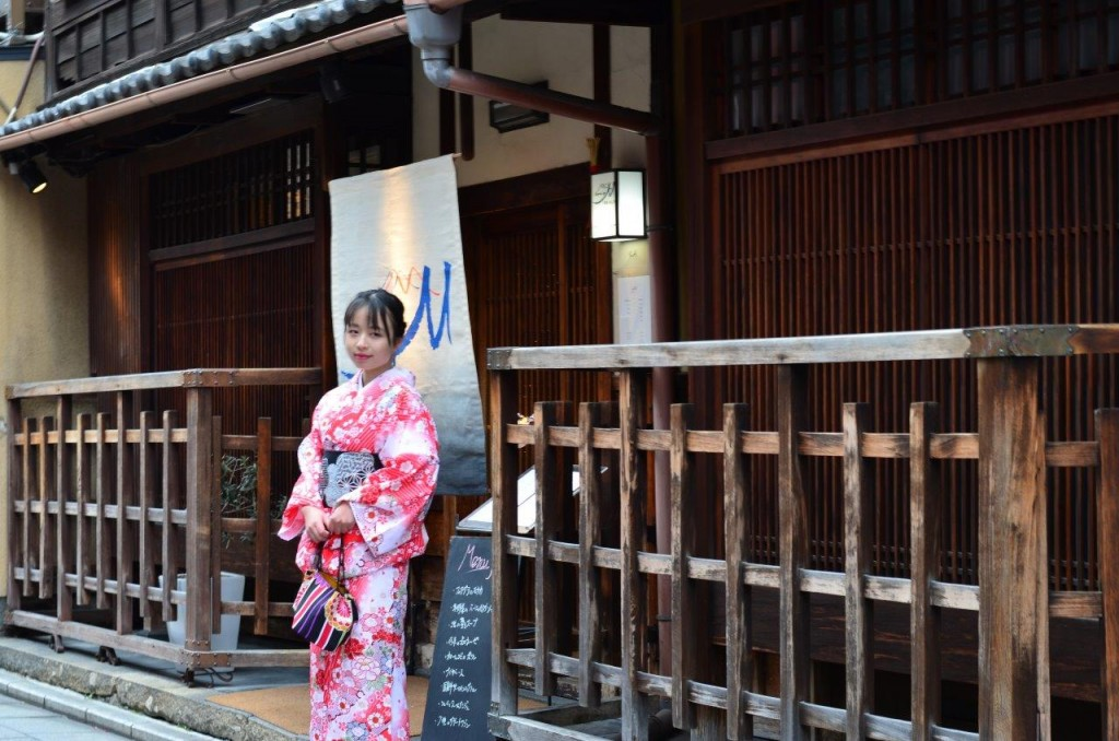 京都四条烏丸の古都で着物レンタルされたお客様5