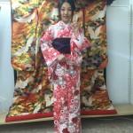 京都レンタルきもの古都の着物レンタルされたお客様1月27日2