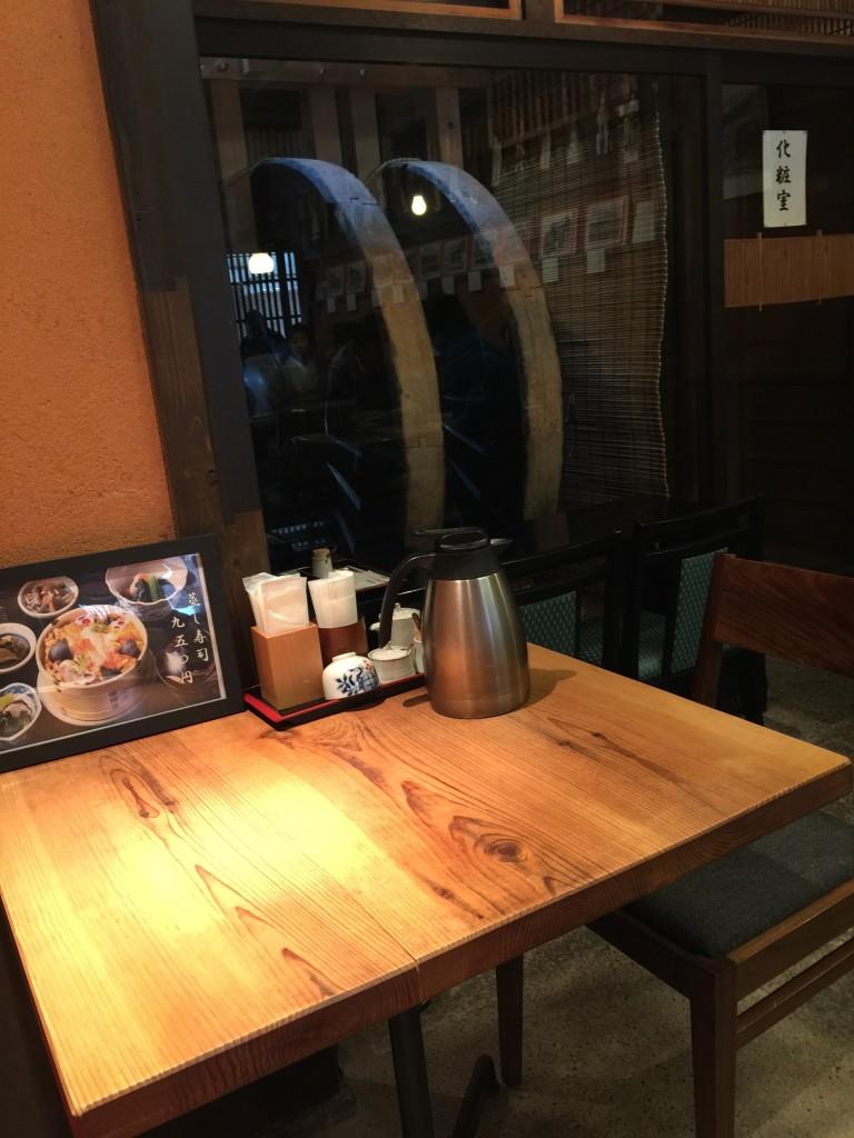 京都四条烏丸から徒歩5分の「ごはん処 矢尾定」2