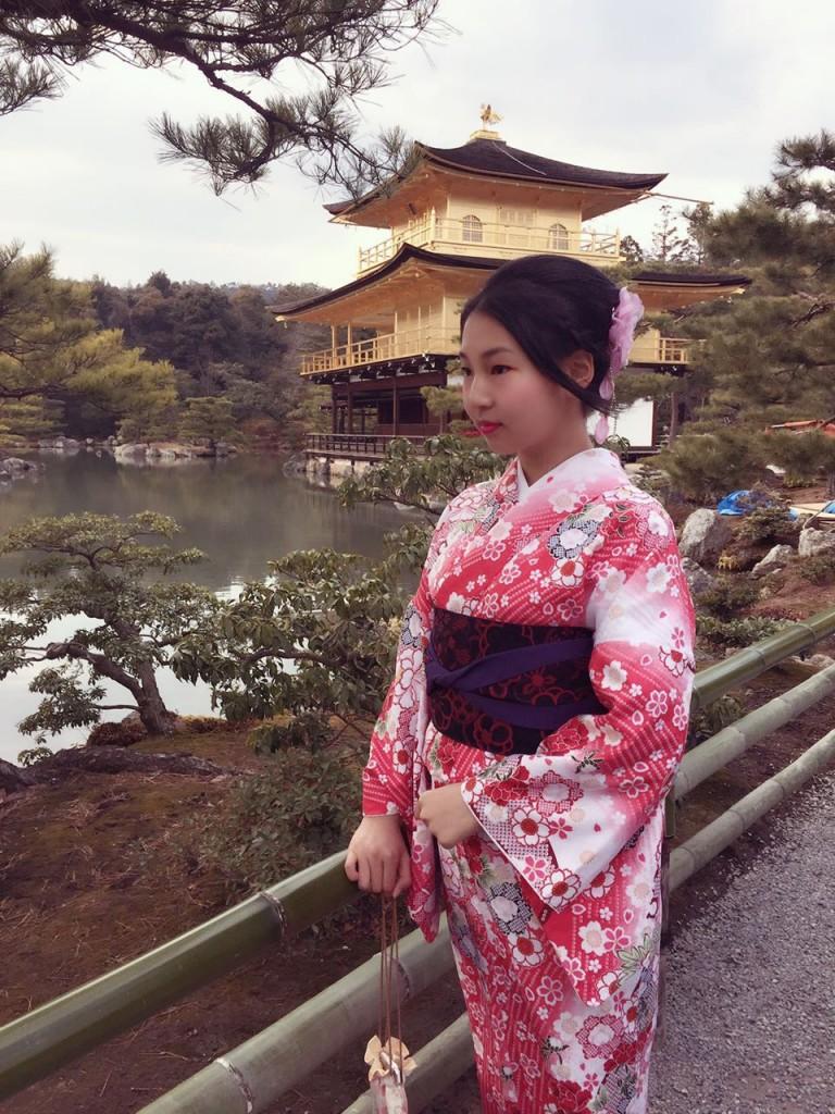 京都レンタルきもの古都の着物レンタルされたお客様1月27日5