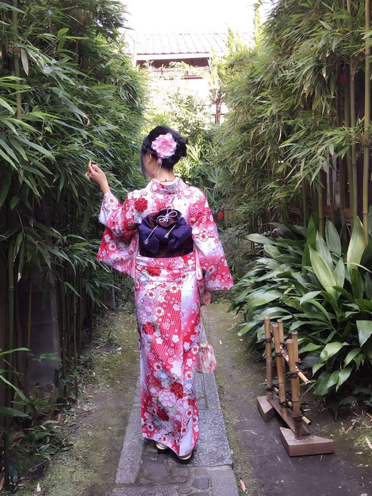 京都レンタルきもの古都の着物レンタルされたお客様1月27日6