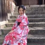 京都レンタルきもの古都の着物レンタルされたお客様1月27日8