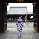 着物レンタルで京都仏光寺や錦市場へ!6