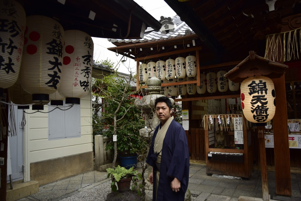着物レンタルで京都仏光寺や錦市場へ!7