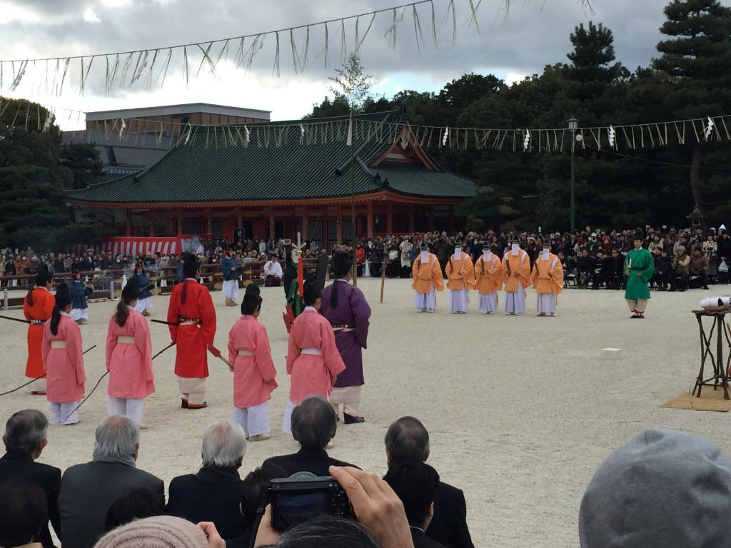 京都平安神宮節分祭【着物レンタルは四条烏丸の古都へ】2