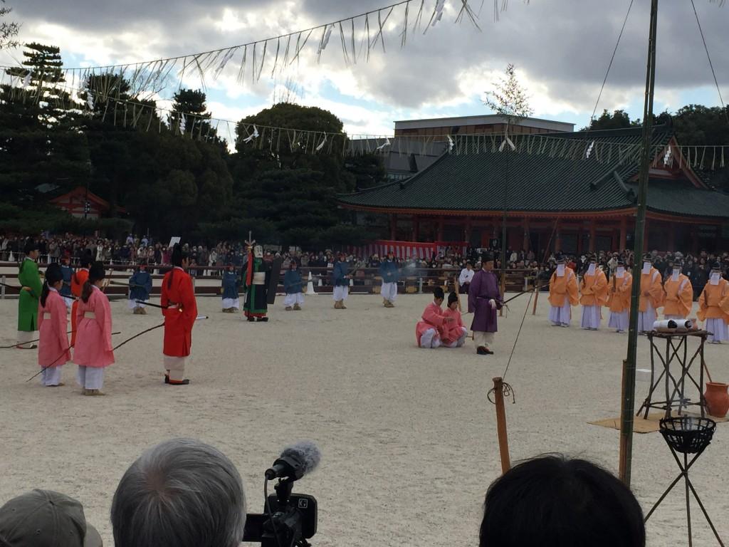 京都平安神宮節分祭【着物レンタルは四条烏丸の古都へ】3