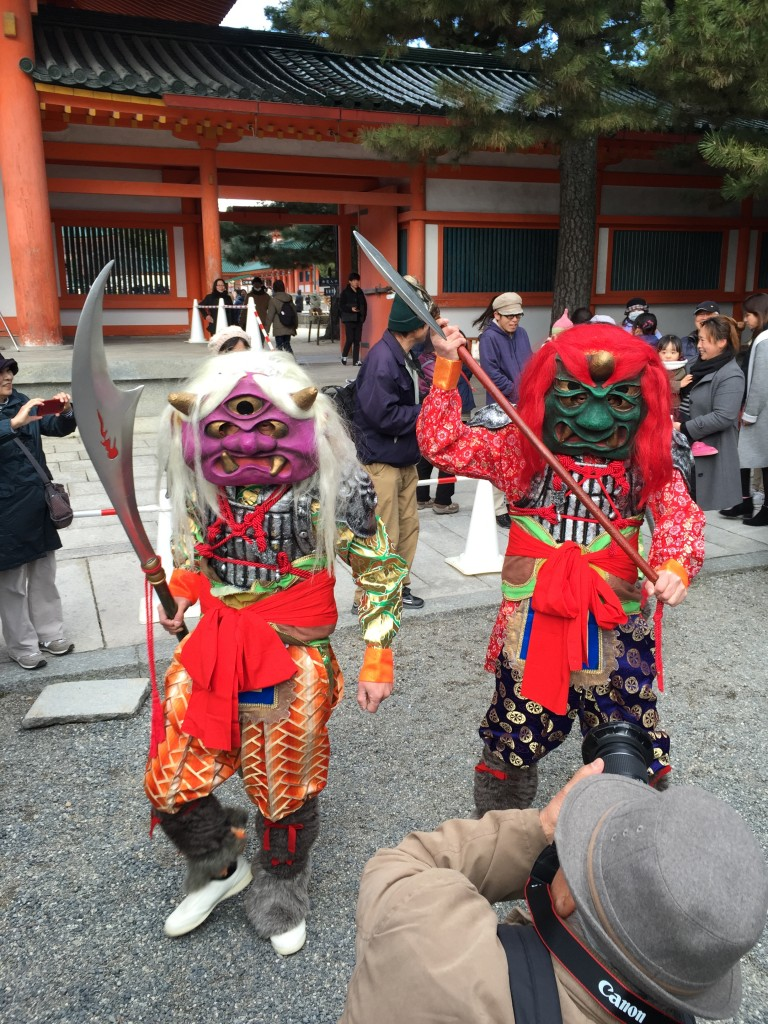 京都平安神宮節分祭【着物レンタルは四条烏丸の古都へ】11
