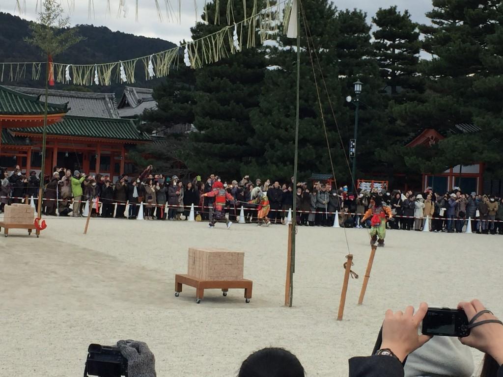京都平安神宮節分祭【着物レンタルは四条烏丸の古都へ】4