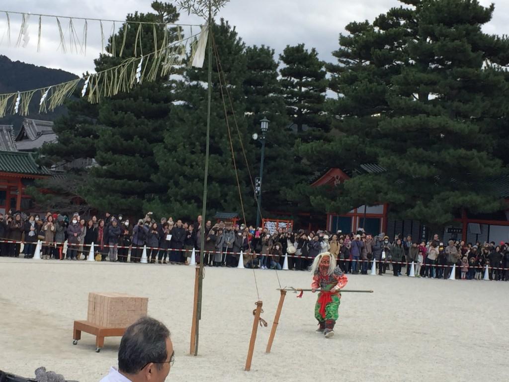 京都平安神宮節分祭【着物レンタルは四条烏丸の古都へ】5
