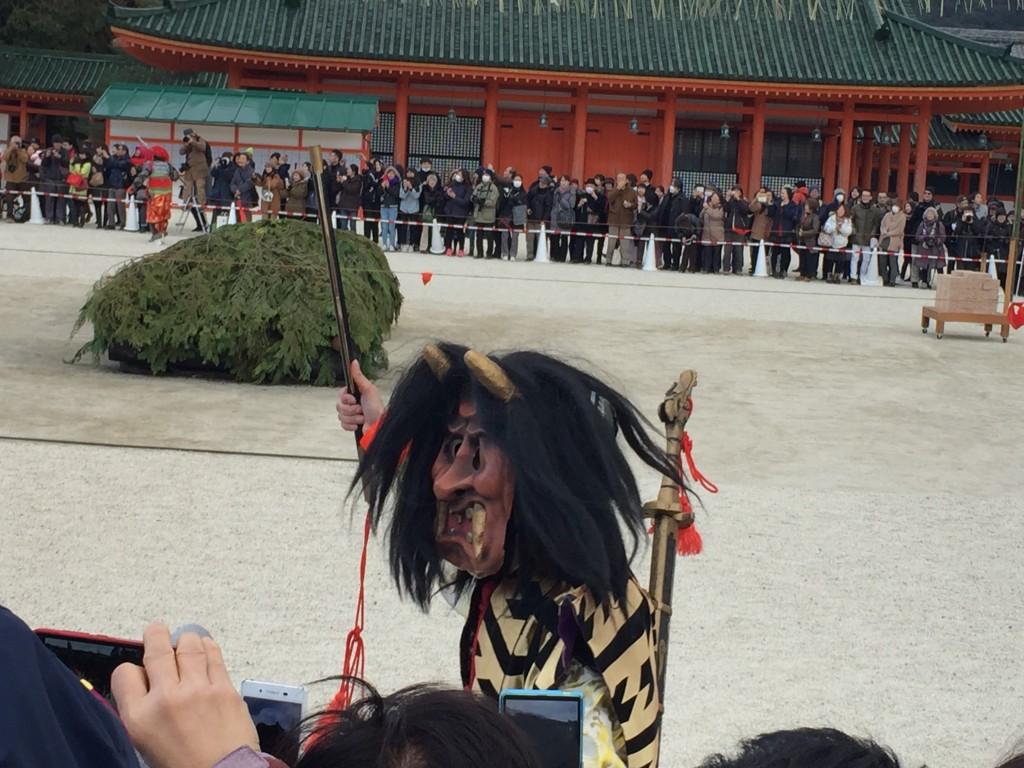 京都平安神宮節分祭【着物レンタルは四条烏丸の古都へ】6