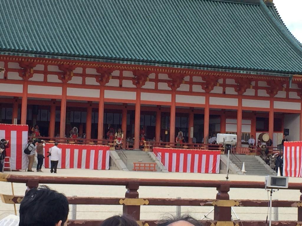 京都平安神宮節分祭【着物レンタルは四条烏丸の古都へ】8