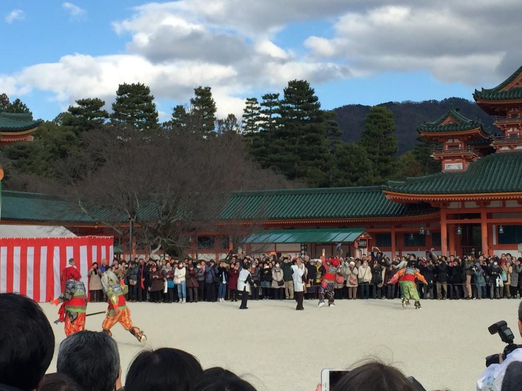 京都平安神宮節分祭【着物レンタルは四条烏丸の古都へ】9