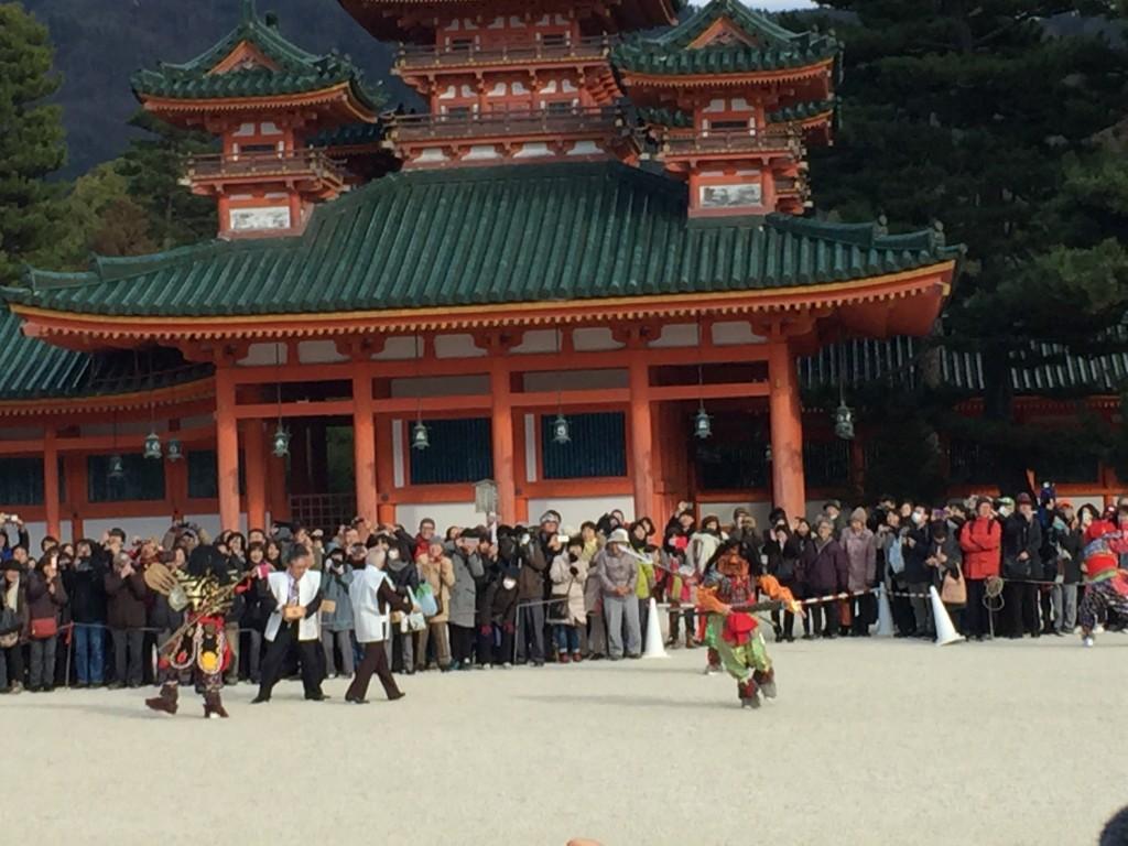 京都平安神宮節分祭【着物レンタルは四条烏丸の古都へ】10