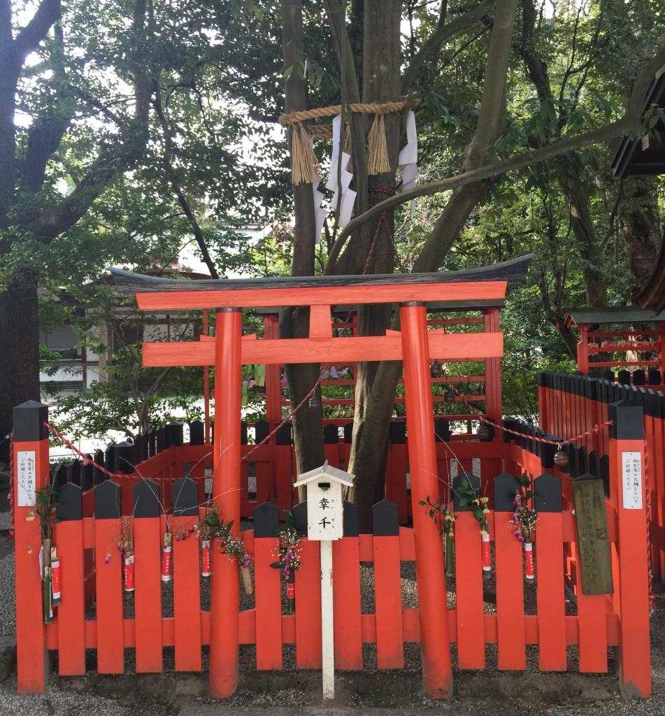 京都の梅スポット 着物レンタルで下鴨神社へ11