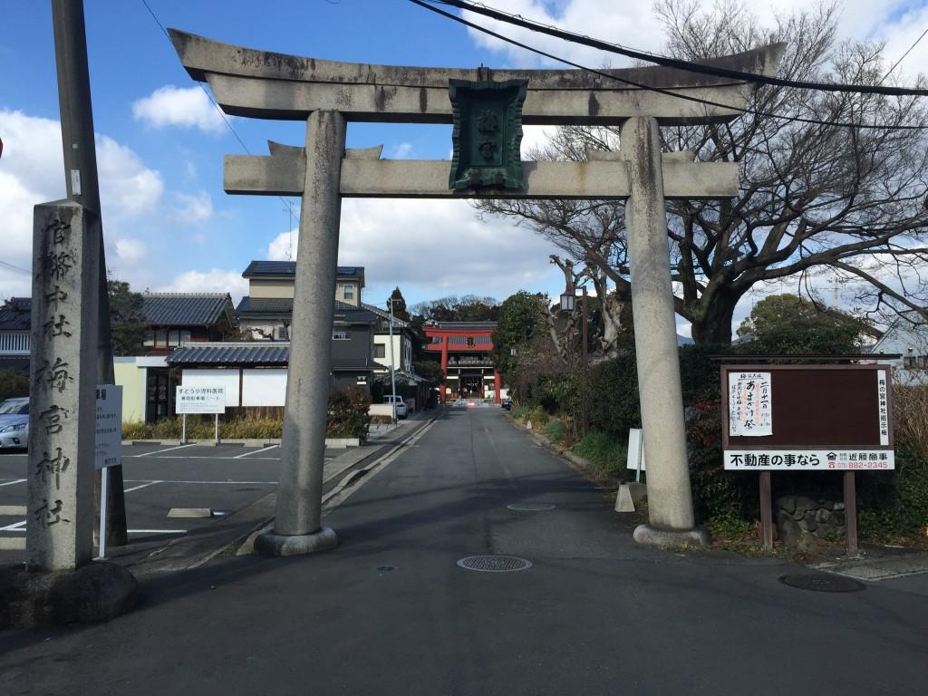 京都の梅スポット「梅宮大社」四条烏丸からバスで30分1