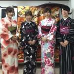 関東から京都観光!着物レンタルのお客様2