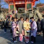 関東から京都観光!着物レンタルのお客様7