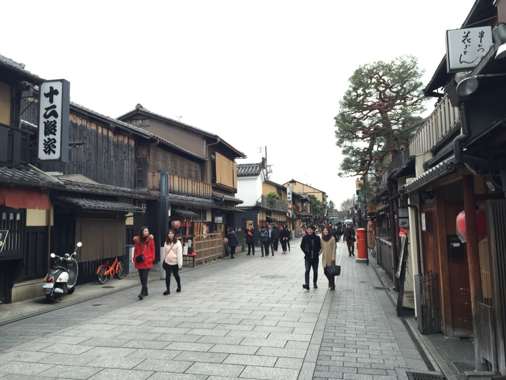 京都「花見小路通り」ではんなりと!3